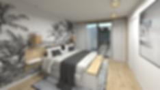 aménagement d'une chambre d'amis ambianc