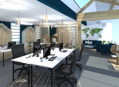 Start-Up : Rénovation et aménagement de bureaux atypiques et engagés.