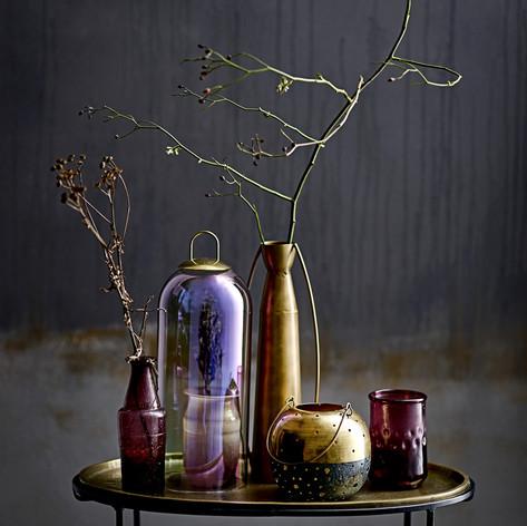 guerison avec décoration dorée et en ver