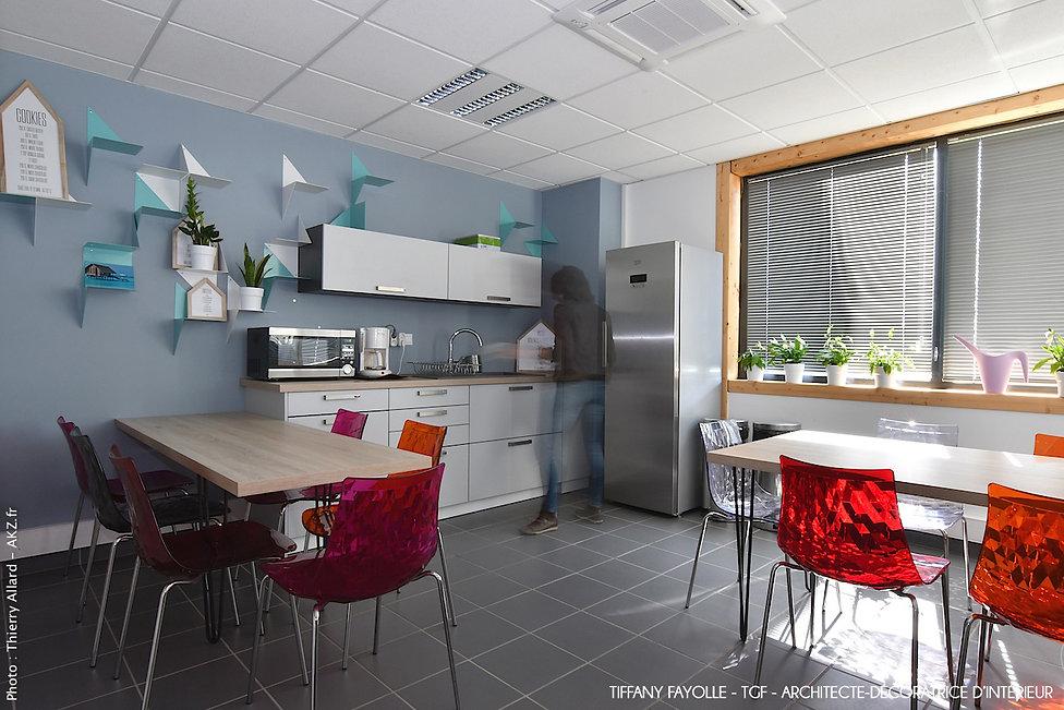 amenagement de cuisine espace repas entreprise amenagement