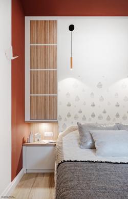 aménagement de petite chambre à lyon, tiffany fayolel architecte d'intérieur et décoratric