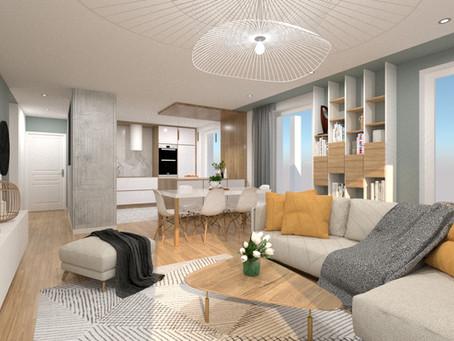 Faire appel à un architecte d'intérieur pour optimiser les plans d'un appartement en VEFA.