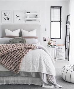 Idee deco chambre inspiration scandinave nordique minimaliste contemporain