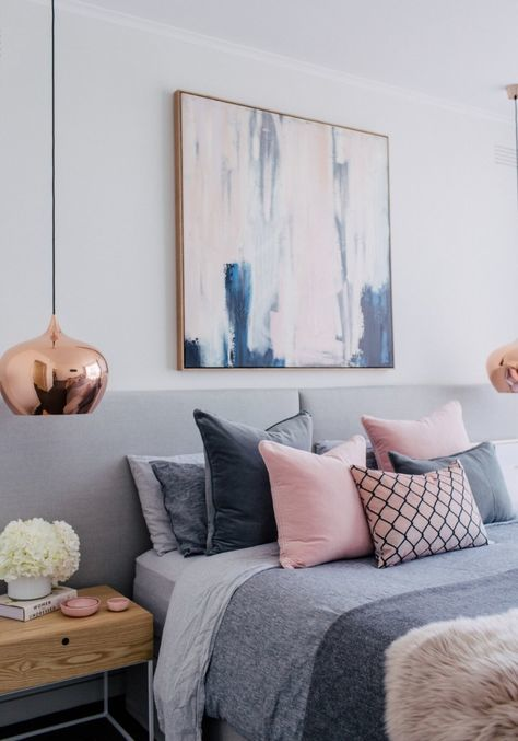 inspiration chambre cocooning rose girly deco inspi cuivre