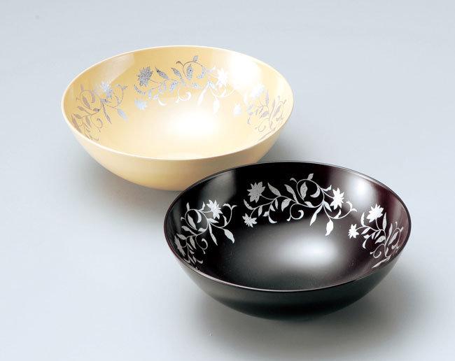 越前塗 アールデコ 小ボール(5寸サイズ)1個(溜またはキャラメル)