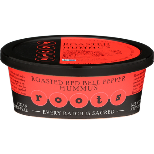 Roots Hummus: Roasted Red Bell Pepper