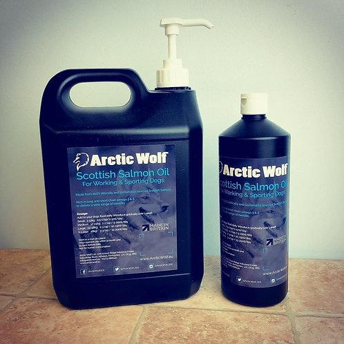 Arctic Wolf Salmon Oil
