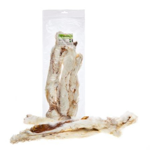 Rabbit Skin with Hair - 250g