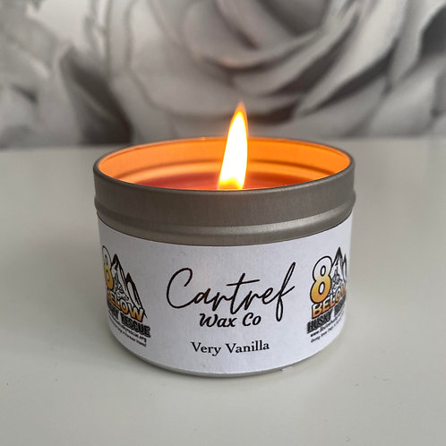 Very Vanilla Soy Candle by Cartref Wax Co