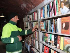 Turquie : les éboueurs de Çankaya ouvrent une bibliothèque pour tous. (#020)