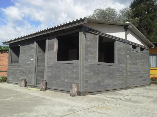 Une maison de 40m2. Photo envoyée par Oscar Mendez.