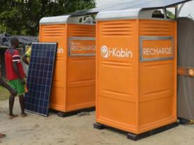 Des cabines solaires pour fournir de l'électricité. (#014)