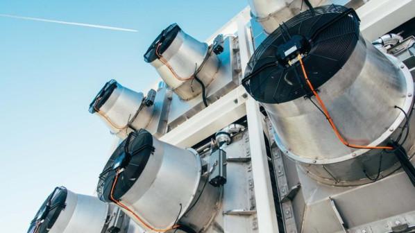 Un dispositif qui capture 900 tonnes de CO2 capturés chaque année (Crédit : Climework)