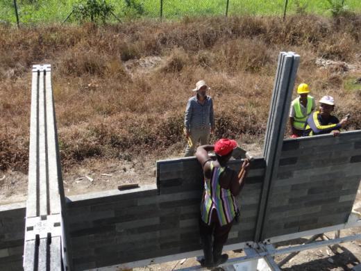N'importe qui peut participer aux chantiers après avoir été formé durant une demi-journée. Photo envoyée par Oscar Mendez.