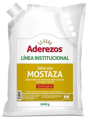 SALSA MOSTAZA BOLSA x 5kg - ADEREZOS