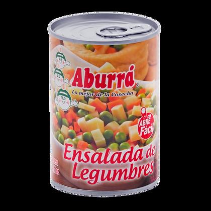 ENSALADA DE LEGUMBRES x 300g - ABURRA