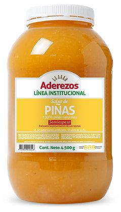 SALSA DE PINA GARRAFA x 4.5kg - ADEREZOS