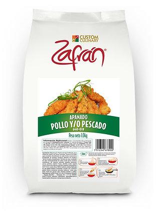 APANADO POLLO-PESCADO x 1kg - ZAFRAN