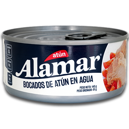 ATUN LOMO AGUA x 140g - ALAMAR