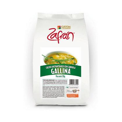 CALDO CON SABOR A GALLINA x 1kg - ZAFRAN
