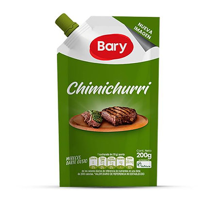 SALSA CHIMICHURRI x 200g - BARY