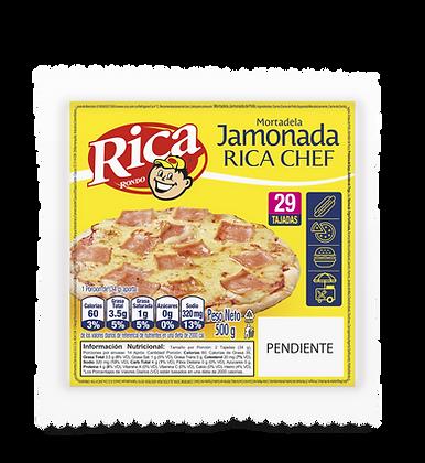MORTADELA JAMONADA x 500g - RICA