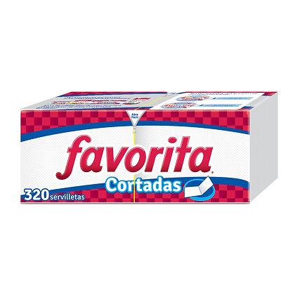 SERVILLETA PARTIDA x 320und - FAVORITA