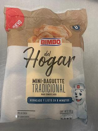 PAN BAGUETTE TRADICIONAL 50g x 8und - BIMBO