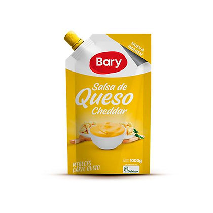 SALSA DE QUESO CHEDDAR x 1kg - BARY