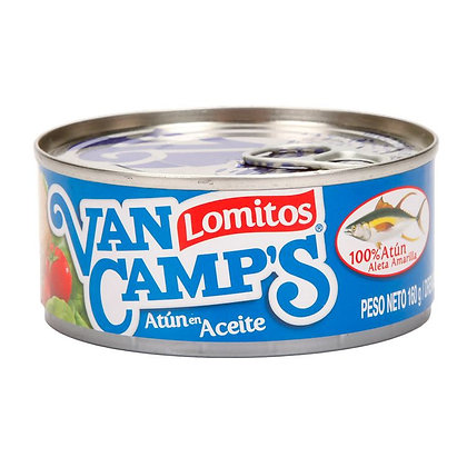 ATUN LOMITOS ACEITE x 354g - VAN CAMPS