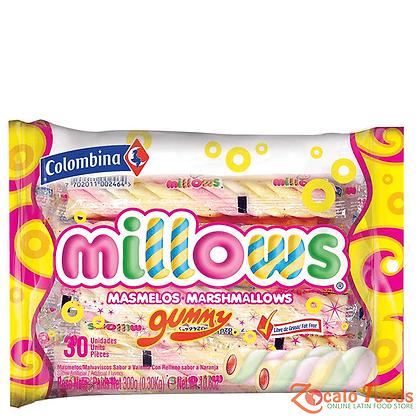 MILLOWS INDIVIDUAL GUMMY x 30und - COLOMBINA