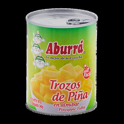 PINA EN TROZOS x 227g - ABURRA
