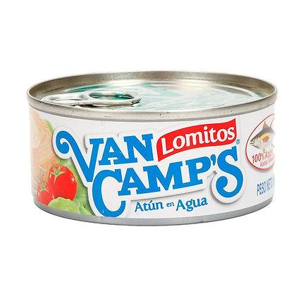 ATUN LOMITOS AGUA x 160g - VAN CAMPS