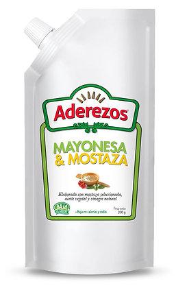 SALSA MAYONESA - MOSTAZA x 1kg - ADEREZOS