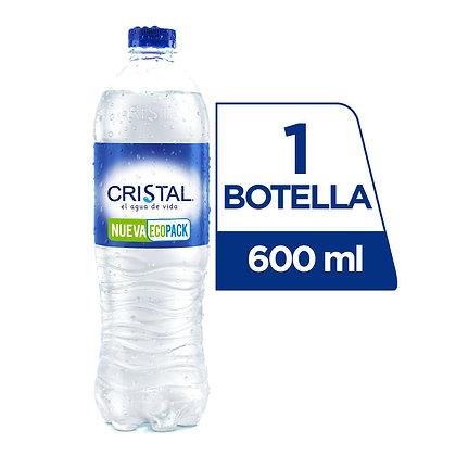 AGUA PET x600ml-CRISTAL