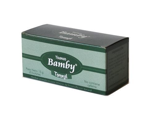 AROMATICA TORONJIL x 20und - BAMBY