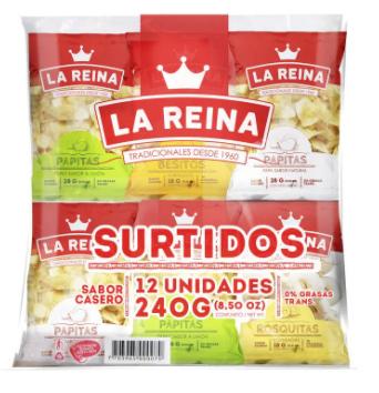 SURTIDO 12und x240g-REINA
