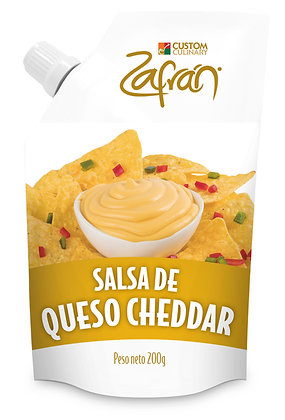 SALSA DE QUESO CHEDDAR x 200g - ZAFRAN