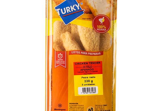 CHICKEN TENDER APANADO CON PANKO x 330g - TURKY