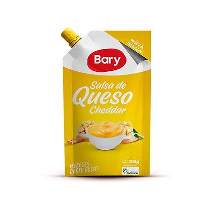 SALSA DE QUESO CHEDDAR x 200g - BARY