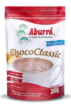 CHOCOCLASSIC SIN AZUCAR x 200g - ABURRA