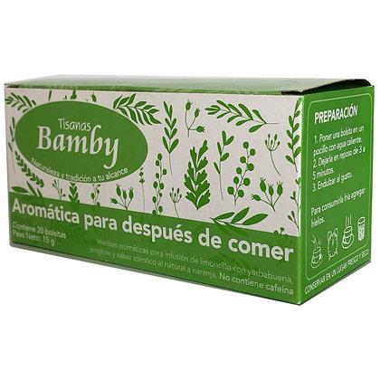 INFUSION DESPUES DE COMER x20und-BAMBY