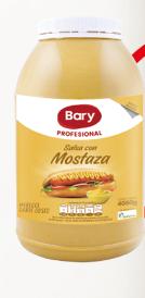 SALSA CON MOSTAZA GARRAFA x 4.05kg - BARY