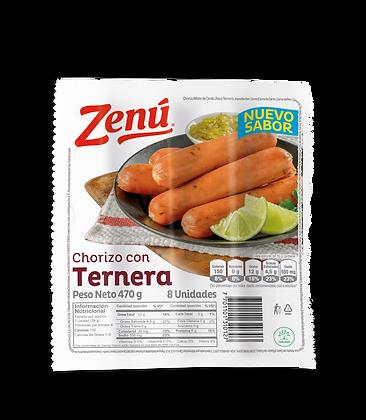CHORIZO DE TERNERA x 470g - ZENU