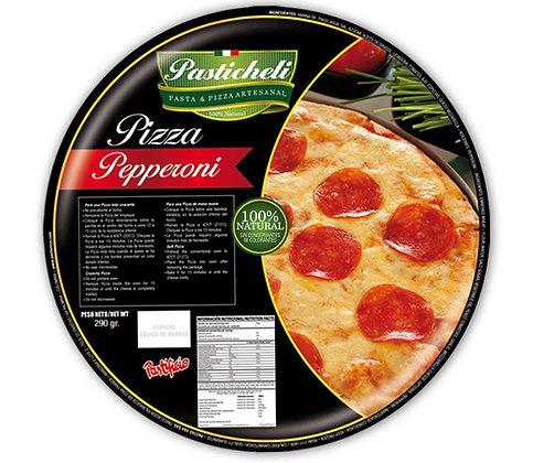 PIZZA PEPERONI 21cm x290g-PASTICHELI