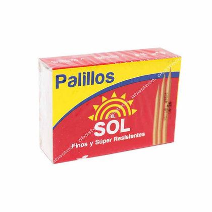 PALILLOS INDIVIDUAL x 500und - EL SOL