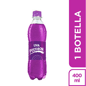 UVA PET x400ml-POSTOBON