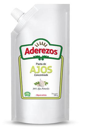 PASTA DE AJO x 200g - ADEREZOS