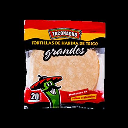 TORTILLA GRANDE 25cm x20und-TACONACHO