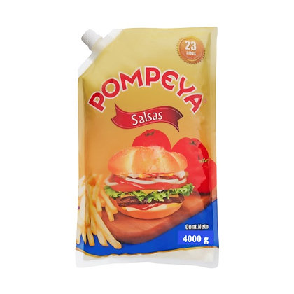 SALSA MAYONESA BOLSA x 4kg - POMPEYA